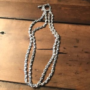 Premier Designs short silver chain